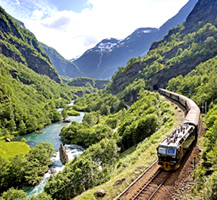 Flam Railway. By Morten Rakke.